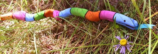 Комментарий: Модульные поделка змея своими руками из бумаги.  Комментарий: Поделки к году змеи.