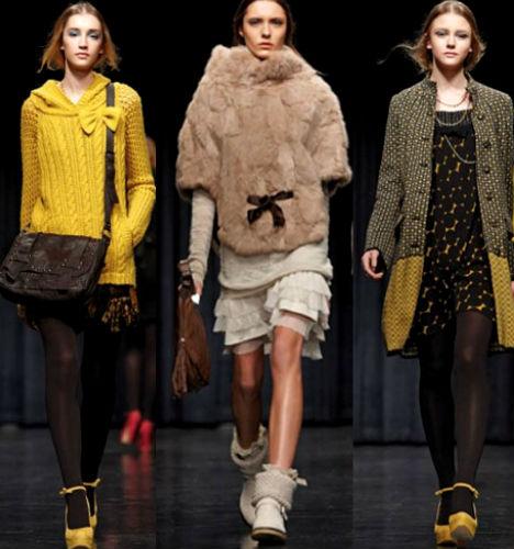 мода осень зима 2012-2013 фото