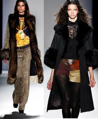 мода зима 2013 фото