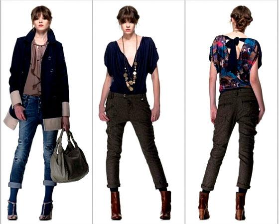 мода осень зима 2012-2013 женская фото