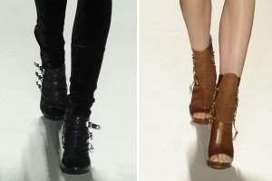 мода осень зима 2012-2013 фото обувь