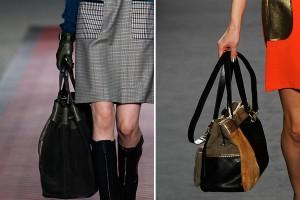 мода осень зима 2012-2013 фото сумки
